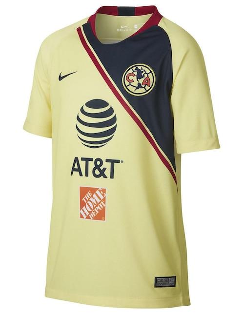 Jersey Nike Club América Réplica Local para niño bd1adc571a4