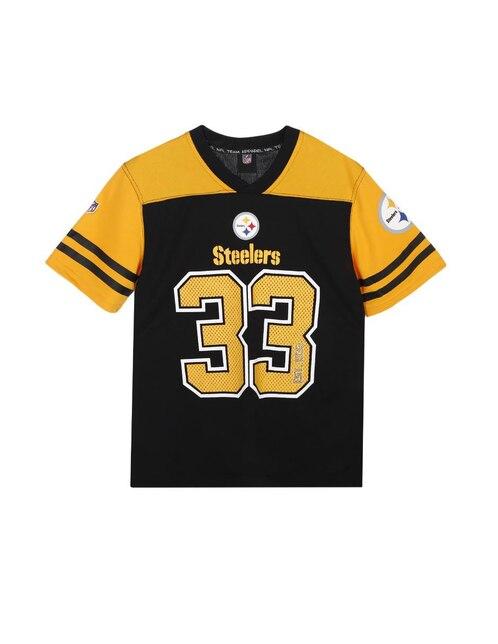 Playera NFL Pittsburgh Steelers para niño 1edf84604da