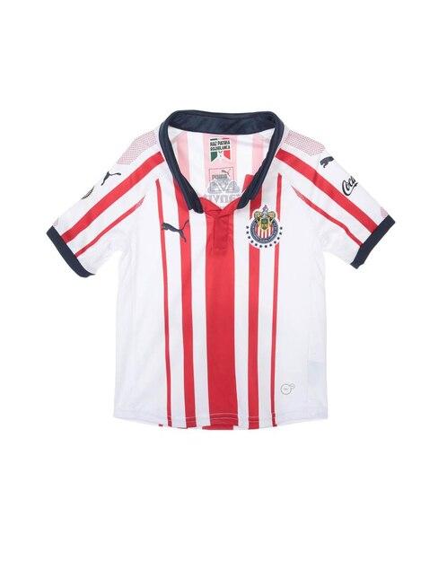 Jersey Puma Chivas de Guadalajara Réplica Local para niño 89001797027f5