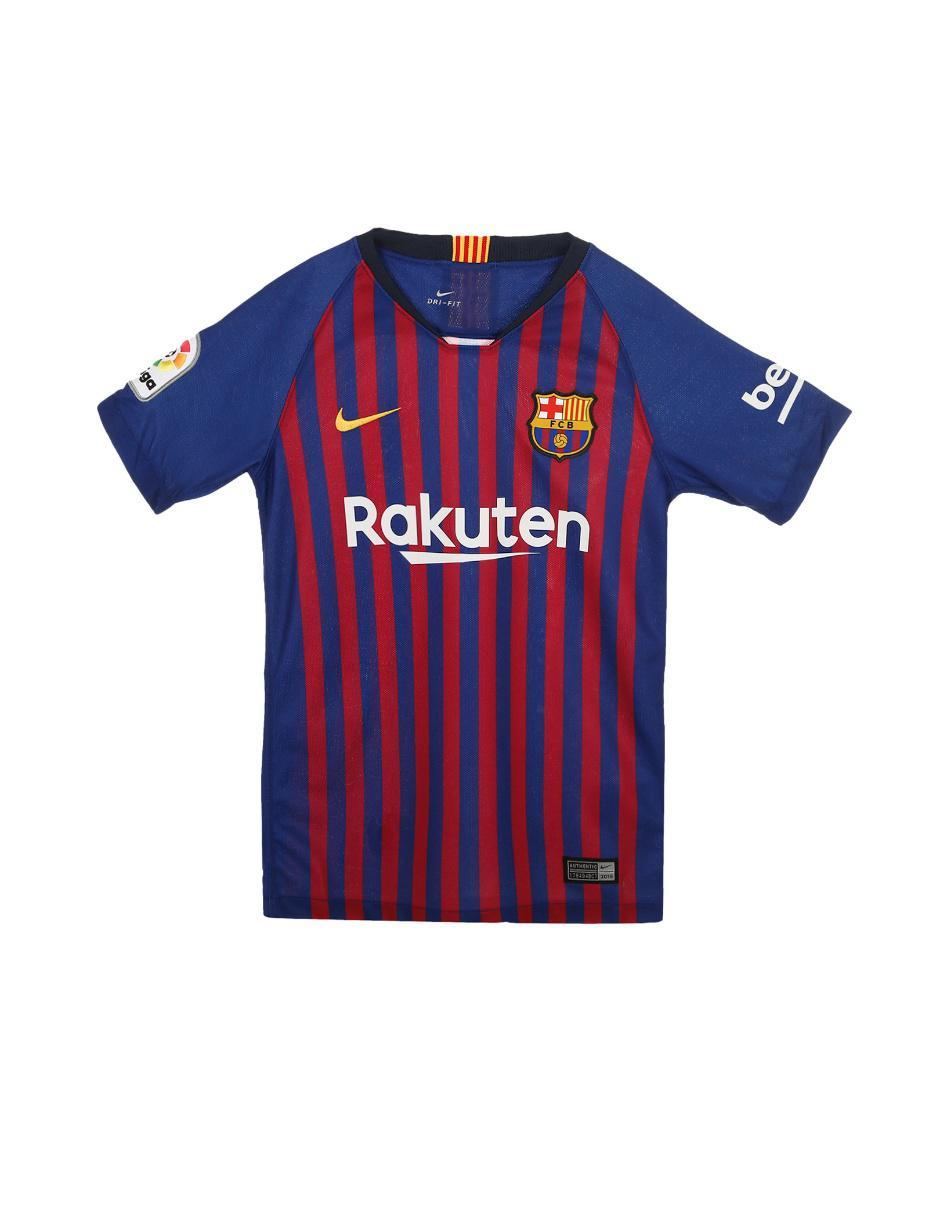 Jersey Nike FC Barcelona Réplica Local para niño a8b92e993ad