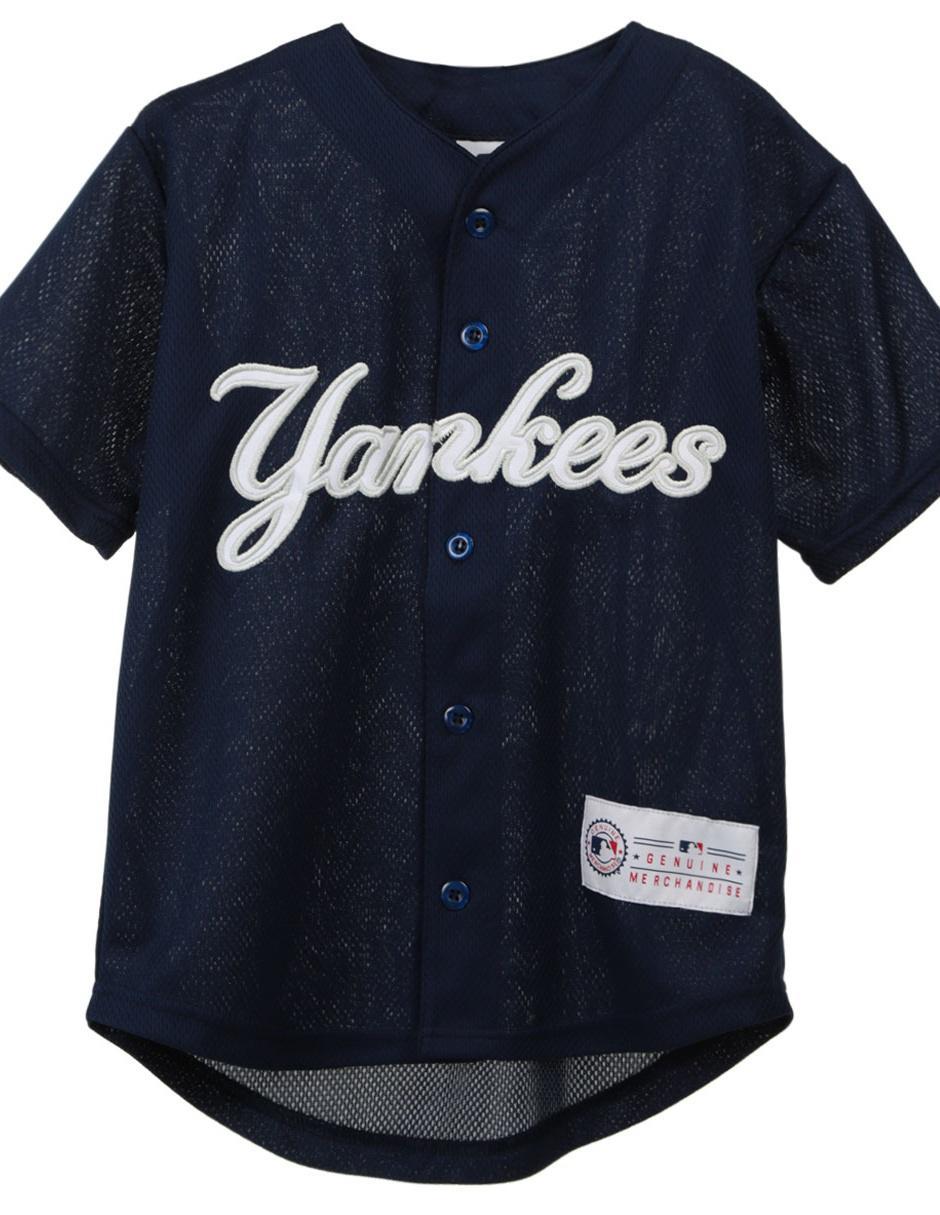 Jersey MLB New York Yankees Réplica Local para niño Precio Lista aea510593affc