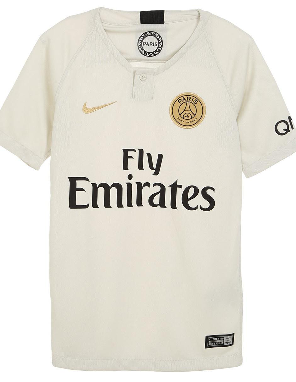 Jersey Nike París Saint-Germain Réplica Visitante para niño Precio Lista 74563eccac0df