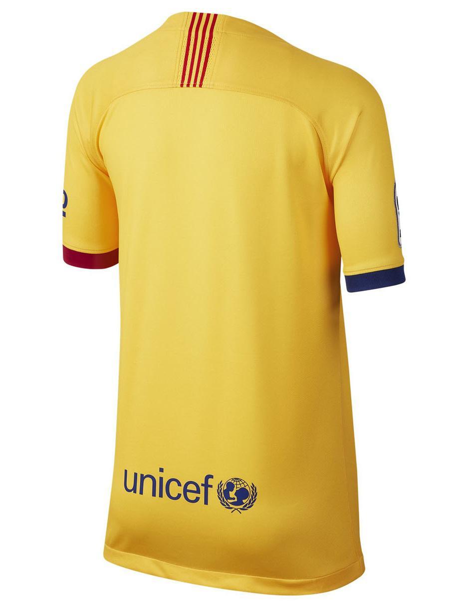 Visitante Niño Jersey Barcelona Fc Nike Réplica Para rQshtdC